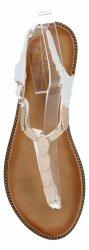 Białe modne sandały damskie firmy Givana