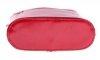 Skórzana torebka listonoszka Made in Italy Czerwona