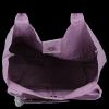 Modne Torebki Skórzane Shopper Bag XL z Etui firmy Vittoria Gotti Wrzosowa