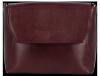 Klasyczna Listonoszka Skórzana firmy Vittoria Gotti Made in Italy Bordowa