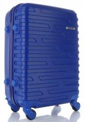 Módní Palubní kufřík Or&Mi 4 kolečka kobaltová