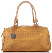 Dámská kabelka kufřík Diana&Co Hořčičná