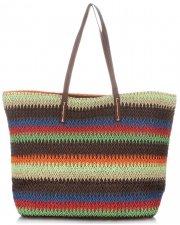 Univerzální Dámské kabelky David Jones Multicolor hnědá