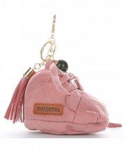 Přívěšek ke kabelce Bota Fiorentina růžový