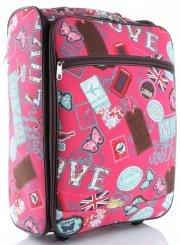 Palubní kufřík značky Or&Mi Butterflies&Stamps multicolor červená