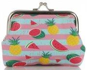 Módní Dámské Peněženky David Jones Multicolor Vzorek v Ananasy & Vodní melouny