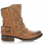 Dámské boty Crystal Shoes zrzavy