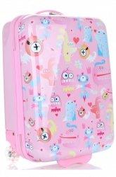 Módní Palubní kufřík pro děti Madisson multicolor - růžová