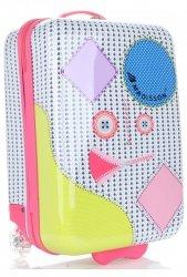 Módní Palubní kufřík pro děti Madisson multicolor - šedá