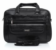 Prostorná taška Orm&Mi Laptop černá