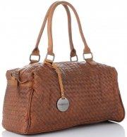 Dámská kabelka kufřík Diana&Co Hnědá