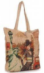 Dámské kabelky Shopper Barevné New York