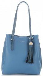 Univerzální Dámské kabelky David Jones Modrá