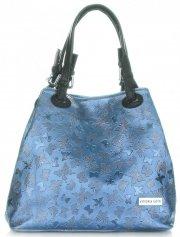 Elegantní Kabelka Vittoria Gotti modrá