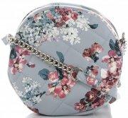 Kabelky Listonošky květinový vzor David Jones Multicolor  Světle Modrá