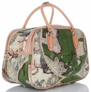 Velká cestovní taška kufřík Or&Mi World Multicolor - Zelená