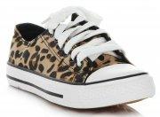 Módní Dámské Sportovní Boty Marquiz Leopard Hnědé