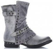 Lady Glory Univerzální Dámské boty šedé