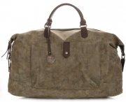 Velké Dámské kabelky XXL Cestovní taška Diana&Co Zelená