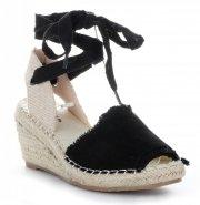 Dámské boty na platformě Černé