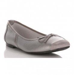 Dámské baleríny šedé