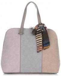 Dámská kabelka kufřík David Jones multicolor Zemitá