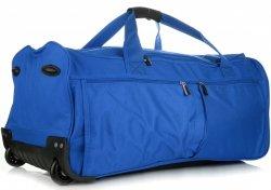 Cestovní taška na kolečkách s teleskopickou rukojetí renomované firmy Davi jones modrá