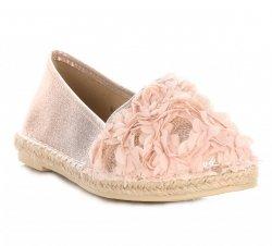 dámské espadrilky růžové