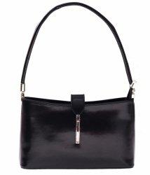 Kožené kabelky klasické a elegantní černá