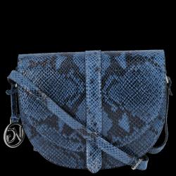 Włoska Listonoszka Skórzana w motyw Węża firmy Vittoria Gotti Jeans