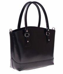 Univerzálne a ležérne kožené tašky čierne
