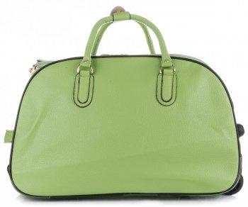 Cestovní taška na kolečkách s výsuvnou rukojetí Or&Mi Zelená