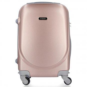 Palubní kufřík Ultra Light Or&Mi 4 kolečka Růžový