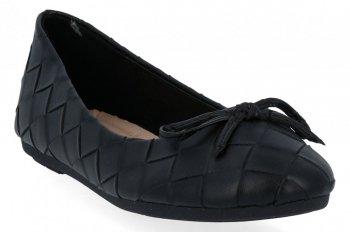 Černé módní dámské baleríny Sergio Todzi