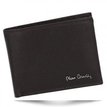Pánská kožená peněženka Pierre Cardin Čokoládová