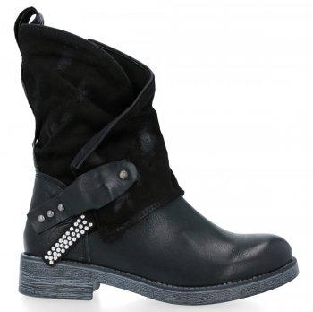 Černé univerzální kotníkové boty Elise
