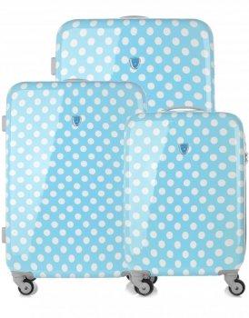 Kufry renomované firmy Madisson Sada 3v1 modré