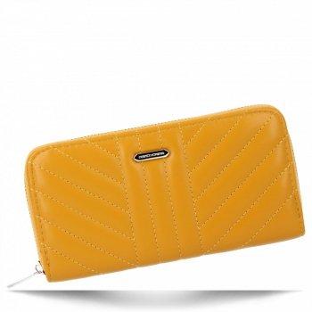 David Jones Módní Dámská Peněženka XL Žlutá