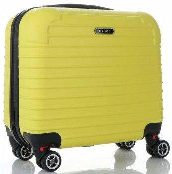 Palubní Kufřík Lumi 4 Kolečka Žlutý