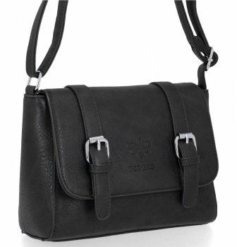 BEE BAG Dámská Kabelka Listonoška Vintage Bag Černá