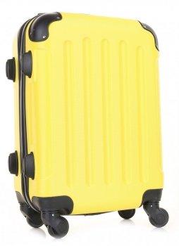 Palubní kufřík italské firmy Or&Mi 4 kolečka Žlutá