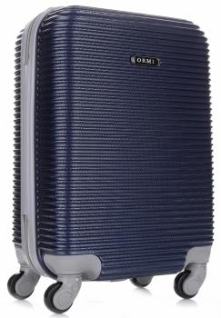 Palubní kufřík Or&Mi 4 kolečka Tmavě modrá