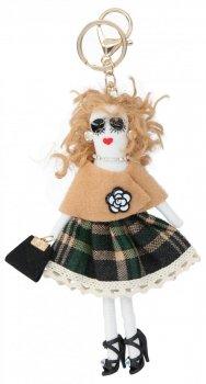 Přívěšek ke kabelce Vicky Doll Zelená