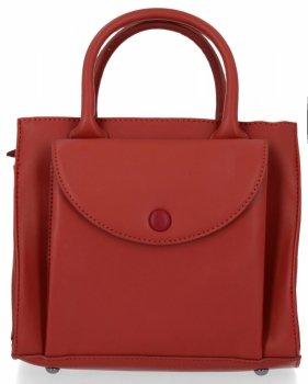 Elegantní Kabelka Kufřík Listonoška Diana&Co Červená