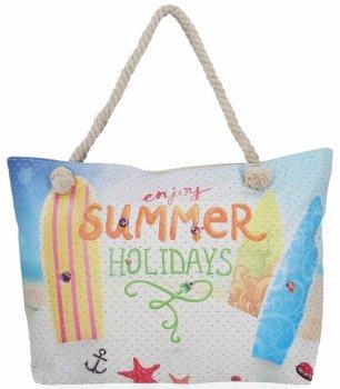 Módní Dámské Kabelky Summer Holidays Multicolor