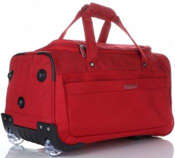 Snowball Velká Cestovní taška XL na kolečkách s teleskopickou rukojetí červená