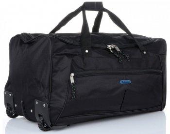 Cestovní taška na kolečkách s teleskopickou rukojetí renomované XL firmy Madisson černá