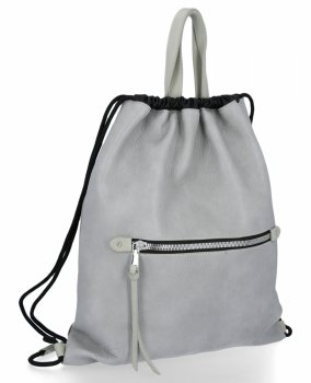 BEE BAG Univerzální Dámská Kabelka Shopper Bag Beatrice Světle Šedá