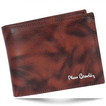 Pánská kožená peněženka Pierre Cardin hnědá