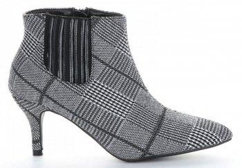 Elegantní Dámské boty Sergio Todzi černé a šedé